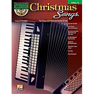 Hal-Leonard-Christmas-Songs---Accordion-Play-Along-Volume-4-Book-CD-Standard