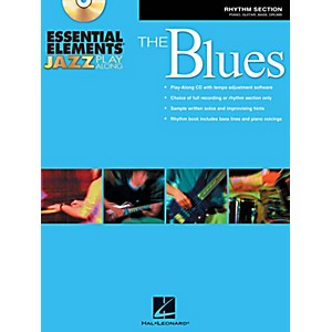 Hal-Leonard-Essential-Elements-Jazz-Play-Along---The-Blues--Rhythm-Section--Book-CD-Standard