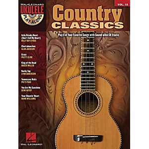 Hal-Leonard-Country-Classics-Ukulele-Play-Along-Volume-15-Book-CD-Standard