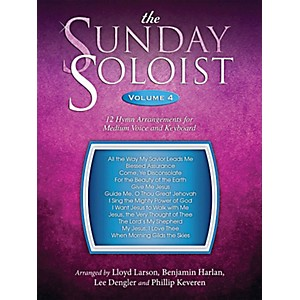 Word-Music-The-Sunday-Soloist-Volume-4--12-Hymn-Arrangements-For-Medium-Voice-And-Keyboard-Standard