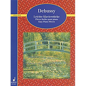 Schott-Debussy---Easy-Piano-Pieces-Standard