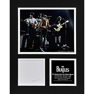 Mounted-Memories-Beatles--The-White-Album--11x14-matted-photo-Standard
