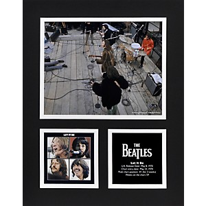 Mounted-Memories-Beatles--Let-It-Be--11x14-matted-photo-Standard