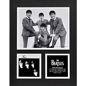 Mounted-Memories-Beatles--With-The-Beatles--11x14-matted-photo-Standard