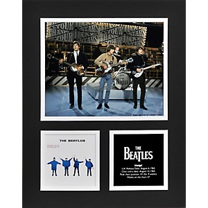Mounted-Memories-Beatles--Help---11x14-matted-photo-Standard