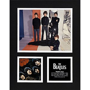 Mounted-Memories-Beatles--Rubber-Soul--11x14-matted-photo-Standard