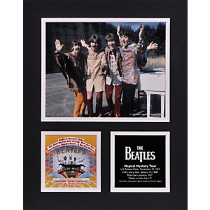 Mounted-Memories-Beatles--Magical-Mystery-Tour--11x14-matted-photo-Standard