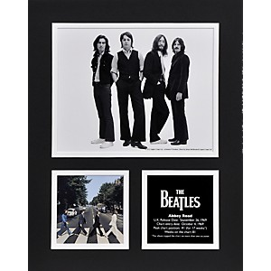 Mounted-Memories-Beatles--Abbey-Road--11x14-matted-photo-Standard