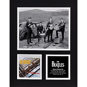 Mounted-Memories-Beatles--Please-Please-Me--11x14-matted-photo-Standard