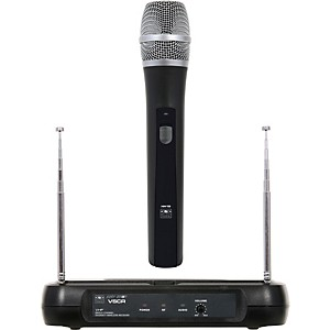 Galaxy-Audio-Diversity-VHF-Wireless-Handheld-Microphone-System-Freq-Code-V54