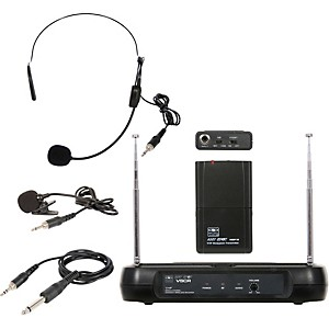 Galaxy-Audio-Triple-Play-Diversity-VHF-Wireless-Belt-Pack-System-Freq-Code-V54