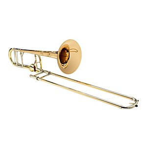S-E--SHIRES-Vintage-Elkhart-Tenor-Trombone-with-F-Attachment-Red-Brass-Bell-Axial-Valve