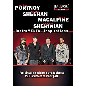 The-Drum-Channel-PSMS-Portnoy--Sheehan--MacAlpine---Sherinian---InstruMENTAL-Inspirations-Drum-DVD-Standard