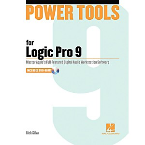 Hal-Leonard-Power-Tools-For-Logic-Pro-9-Book-w-DVD-Standard