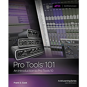 Cengage-Learning-Pro-Tools-101-Official-Courseqare-Ver-10-Book---CD-Standard