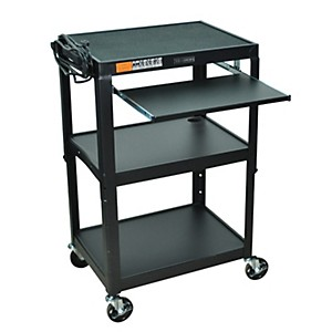 H--Wilson-Adjustable-Height-Cart-with-Keyboard-Tray-Standard