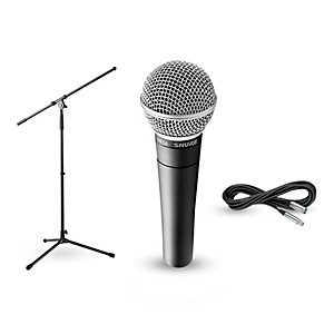 Shure-SM58--Stand---Cable-Package-Standard