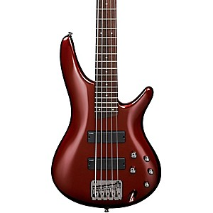 Ibanez-SR305-5-String-Electric-Bass-Root-Beer-Metallic