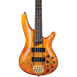 Ibanez-SR800-4-String-Electric-Bass-Amber