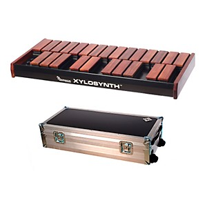 Wernick-MkVI-Bubinga-Xylosynth-w-Internal-Sounds--Flight-Case-and-Accessories-2-Octave