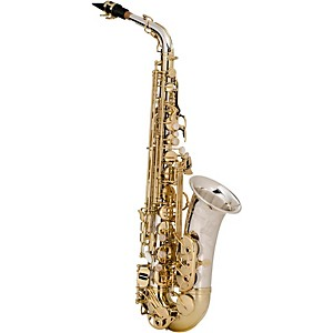 Yanagisawa-Alto-Saxophone-Silver-neck-body-and-bell