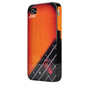 Hal-Leonard-Contour-Design-Fender-iPhone-4-4S-Wood-Grain-Hard-Gloss-Protective-Case-Standard