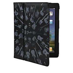 Hal-Leonard-Contour-Design-Fender-iPad-Black-Guitar-Army-Folio-Case-Standard