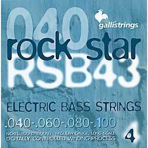 Galli-Strings-RSB43-ROCKSTAR-Regular-Bass-Strings-40-100-Standard