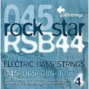 Galli-Strings-RSB44-ROCKSTAR-Medium-Bass-Strings-45-105-Standard