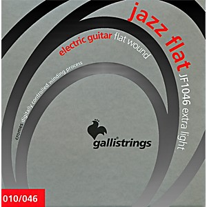 Galli-Strings-JF1046-JAZZ-FLAT-WOUND-Extra-Light-Electric-Guitar-Strings-10-46-Standard