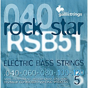 Galli-Strings-RSB51-ROCKSTAR-5-String-Regular-Bass-Strings-40-120-Standard