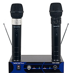 VocoPro-Dual-Channel-VHF-Wireless-Microphone-Set-Channel-3