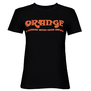 Orange-Amplifiers-Women-s-Classic-T-Shirt-Black-Large