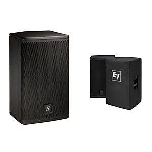 Electro-Voice-ELX112P-Active-12--Loudspeaker--and-Cover-Kit-Standard