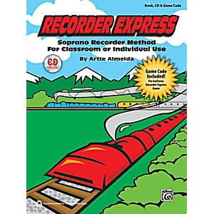 Alfred-Recorder-Express-Book--CD---Game-Code-Standard
