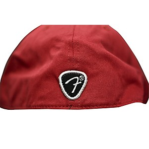 Fender-Red-Script-Logo-Stretch-Cap-Red-L-XL