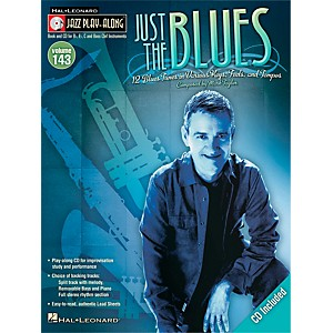 Hal-Leonard-Just-The-Blues---Jazz-Play--Along-Volume-143-Book-CD-Standard