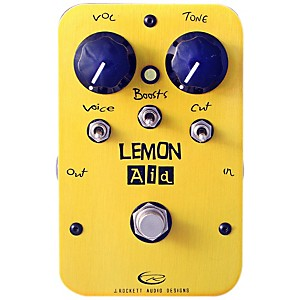 Rockett-Pedals-Lemon-Aid-Multi-Boost-Guitar-Effects-Pedal-Standard