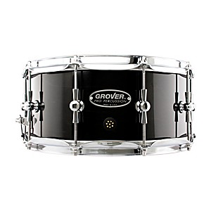 Grover-Pro-GSX-Concert-Snare-Drum-Charcoal-Ebony-6-5x14-Inch