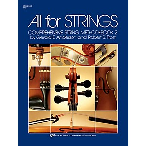 KJOS-All-for-Strings-String-Bass-Book-2-Standard