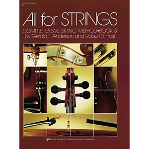 KJOS-All-For-Strings-Book-3-Score-Standard