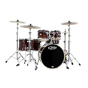 PDP-Concept-Birch-by-DW-6-Piece-Shell-Pack-Transparent-Walnut
