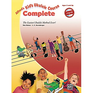 Alfred-Alfred-s-Kid-s-Ukulele-Course-Complete-Book---CD-Standard