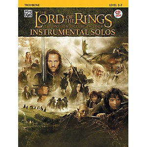Alfred-The-Lord-of-the-Rings-Instrumental-Solos-Trombone--Book---CD--Standard