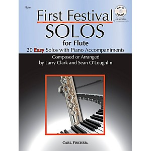 Carl-Fischer-First-Festival-Solos-for-Flute--20-Easy-Solos-with-Piano-Accompaniments--Standard