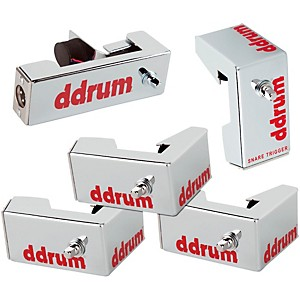 ddrum-Chrome-Elite-Advanced-Engineered-Drum-Triggers---5-Piece-Set-Chrome