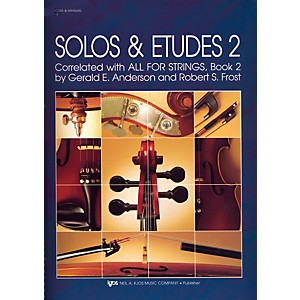 KJOS-Solos-And-Etudes-BOOK-2-SCORE-Standard