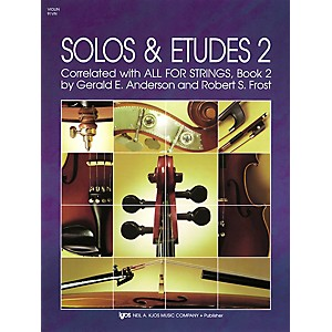 KJOS-Solos-And-Etudes-BOOK-2-VIOLIN-Standard