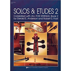 KJOS-Solos-And-Etudes-BOOK-2-STRG-BASS-Standard