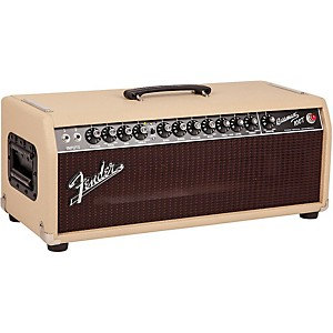 Fender-Bassman-100T-100W-Tube-Bass-Head-Blonde-Oxblood